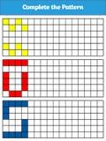 Jeu de logique d'éducation pour les enfants préscolaires Illustration de vecteur Image libre de droits