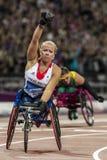Jeu 2012 de Londres Paralympic Image stock