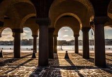 Jeu de lumière et d'ombres Photo stock