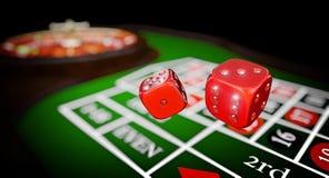 Jeu de luxe de casino Image libre de droits
