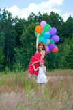 Jeu de mère et de descendant Image stock