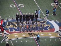 Jeu 2014 de marine d'armée Photos libres de droits