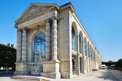 Jeu de Paume building in a sunny afternoon in Paris Stock Photos
