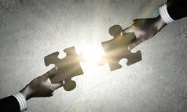 Jeu de puzzle Image stock
