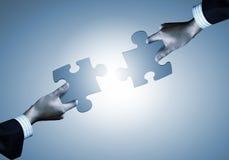 Jeu de puzzle Photos libres de droits