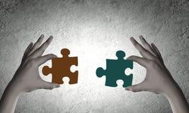 Jeu de puzzle Images libres de droits