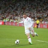 Jeu 2012 de quart de finale d'EURO de l'UEFA Angleterre v Italie Image libre de droits
