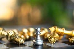 Jeu de société d'échecs, concept concurrentiel d'affaires photos libres de droits