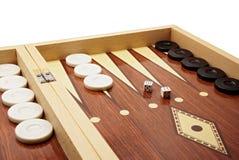 Jeu de société de backgammon Photographie stock libre de droits