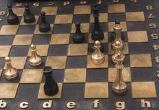 Jeu des échecs Photo libre de droits