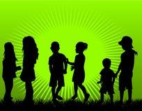 Jeu des enfants Photo libre de droits