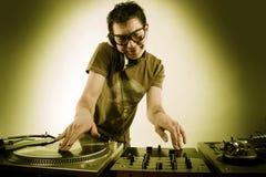 Jeu du DJ Image stock