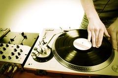 Jeu du DJ Photo libre de droits