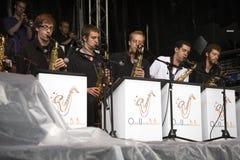 Jeu du jazz à Montreux Photos libres de droits