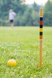 Jeu du jeu de croquet II Image libre de droits