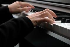 Jeu du piano Photos libres de droits