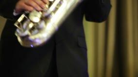 Jeu du saxophone clips vidéos
