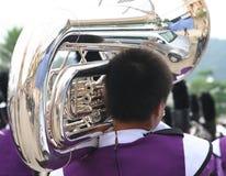 Jeu du trombone Images libres de droits