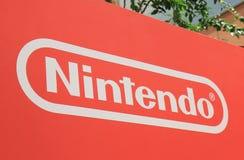 Jeu japonais Japon d'ordinateur de Nintendo images stock