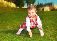 Jeu mignon de bébé Photos libres de droits