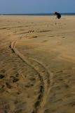 Jeu sur la plage Photo libre de droits