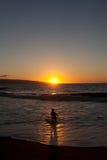 Jeu sur la plage Photographie stock libre de droits