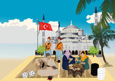 Jeu turc Photos stock