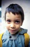 Jeune écolier mignon Image libre de droits