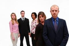 Jeune équipe 2 d'affaires Image stock