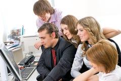 Jeune équipe d'affaires Photographie stock libre de droits