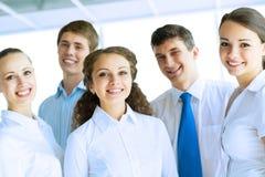 Jeune équipe d'affaires Photo stock