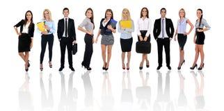 Jeune équipe d'affaires Images libres de droits