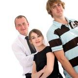 Jeune équipe dynamique d'affaires photo libre de droits