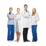 Jeune équipe ou groupe de médecins Images stock