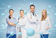Jeune équipe ou groupe de médecins Photo libre de droits