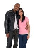 Jeune étreindre affectueux de couples Images stock