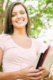 Jeune étudiant attirant image stock