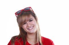 Jeune étudiant de sourire Photographie stock