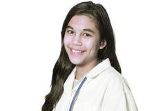 Jeune étudiant en médecine Photographie stock