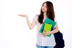 Jeune étudiant heureux Image stock