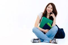 Jeune étudiant heureux Photos libres de droits