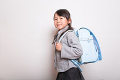 Jeune étudiant japonais Photographie stock