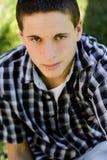 Jeune étudiant universitaire mâle photographie stock libre de droits