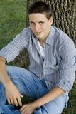 Jeune étudiant universitaire mâle image stock