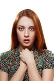 Jeune adolescente Photo libre de droits