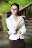 Jeune affaire-femme Photos stock