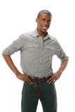 Jeune Afro-américain Photo libre de droits