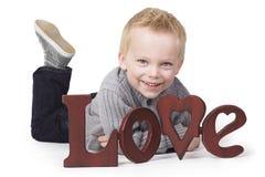 Jeune amour Photo libre de droits