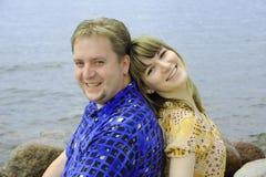 Jeune amour de couples Image stock