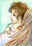 Jeune ange illustration stock